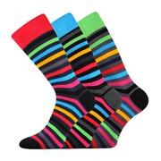 3 pack módnych ponožiek Deline