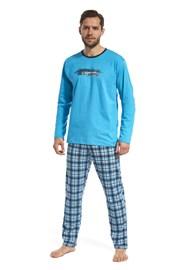 Pánske pyžamo Display modré