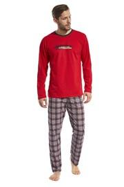 Pánske pyžamo Display červené