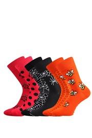 3 pack ponožiek Doble MixA každá ponožka iná
