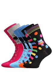 3 pack ponožiek Doble MixB každá ponožka iná