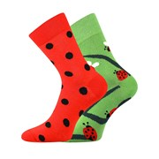 Trendy ponožky Lienky - každá ponožka iná