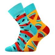 Trendy ponožky Melón - každá ponožka iná