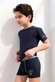 Komplet chlapčenských boxeriek a trička Enrico Coveri 4071