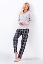 Dámske pyžamo 3034 sivé
