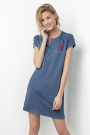 Dámska nočná košeľa Bonjour modrá