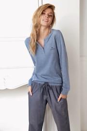 Dámske pyžamo Alice modré