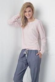 Dámske pyžamo Alice ružovo-modré