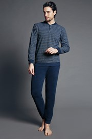 Pánske talianske pyžamo Fabias Blue