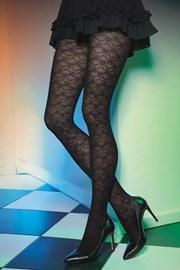 Vzorované pančuchové nohavice Est Belle 03 50 DEN