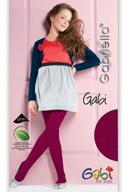 Dievčenské bavlnené pančuchové nohavice Gabi