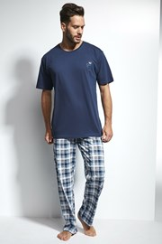 Pánske pyžamo CORNETTE Great Outdoors Blue
