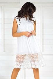 Dámske talianske letné košeľové šaty Iconique IC8017White