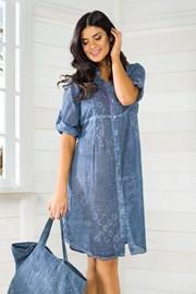 Dámske talianske letné šaty Iconique Jeans IC8047