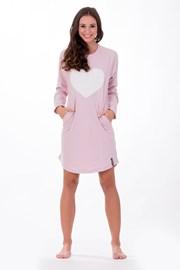 Dámska talianska nočná košeľa Softly Pink