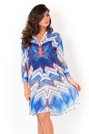 Dámske talianske košeľové plážové šaty Miradonna Beach