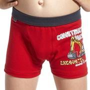 Chlapčenské boxerky Machine Red