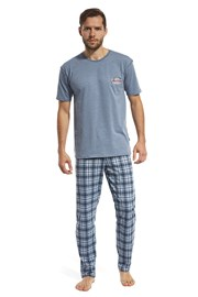 Pánske pyžamo Mountain modré