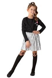 Dievčenské pančuchové nohavice Panda