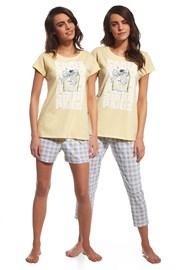 3-dielny set dámskeho pyžama Parfum