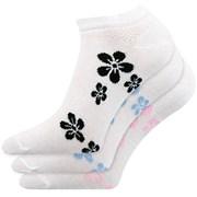 3 pack dámskych ponožiek Piki A nízke