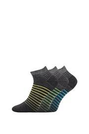 3 pack ponožiek Piki 45 nízke