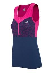 Dámske športové tričko 4f bez rukávov Pink