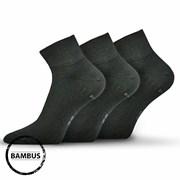 3pack ponožiek Raban čierna bambus