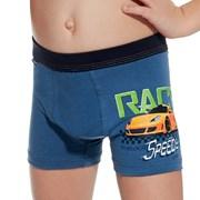 Chlapčenské boxerky Race modré