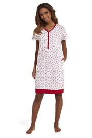 Dámska nočná košeľa Red shoos