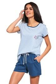 Dámske pyžamo Sea of Love modré