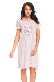 Materská, dojčiaca košieľka Best Mom Pink