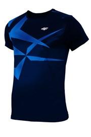 Pánske športové tričko 4F Dry Control Blue effect
