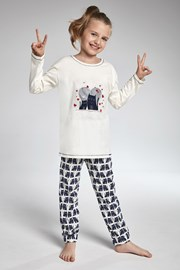 Dievčenské pyžamo Cornette Two Cats