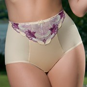 Nohavičky Bouquet Purple klasické vyššie