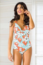 Dámske jednodielne plavky Vacanze Luxuy bez kostíc