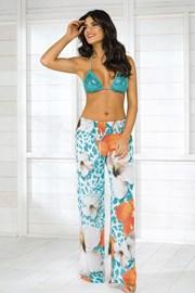 Dámske talianske plážové nohavice Vacanze z kolekcie Luxury Garden