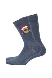 Pánske vzorované ponožky 973