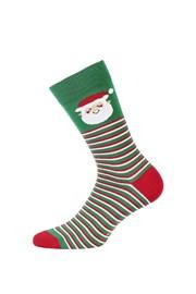 Pánske vzorované ponožky 976