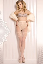Luxusné pančuchové nohavice Wedding 377