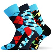 3pack módnych ponožiek Woodoo MixB