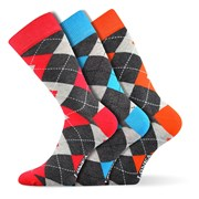 3pack módnych ponožiek Woodoo MixF