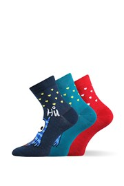 3pack veselých ponožiek Xantipa