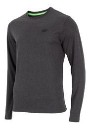 Pánske tričko 4F sivé dlhý rukáv