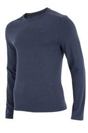 Pánske tričko 4F modré dlhé rukávy