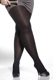 Pančuchové nohavice Amy plus size 600 DEN