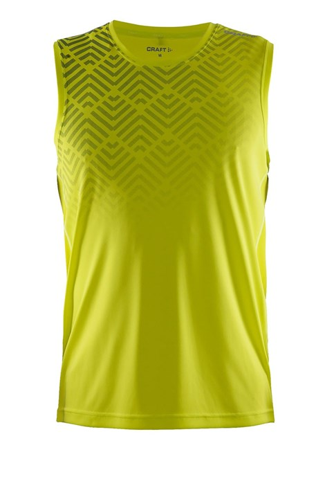 Pánske funkčné tričko Scampolo Craft Mind žlté