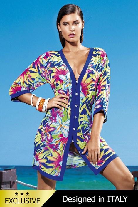 Luxusné talianske plážové šaty 5602E1  2e50aff5c1