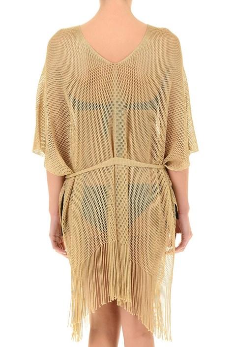 Dámske luxusné talianske plážové šaty Gold. ‹ › d2a3373337