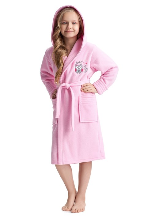 Dievčenský župan Lovely Pink